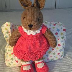 Samantha  - - #knittedtoys #knittedtoy #knittedrabbit #maglia #arttoy #amigurumidoll #amigurumidoll #handmadetoy #handmadetoys #wooltoys #onmyworktable #dollclothes #dollmaker #dolldress #dollknitting #softtoy #babygift #nurseryroom #bambole #fattoamano #coniglio #instaknitting #knittoy #babygirl #babylove #stuffedanimal #stuffedtoy #stuffedtoys #handknittoys