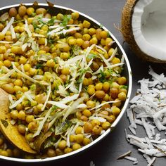 Sundal I Ottolenghi recipes I This southern Indian snack, made with chickpeas or other pulses, can be served warm or at room temperature. If you like, bulk it up a bit with some fresh leaves - mint or Thai basil, say. Some versions also include shredded g