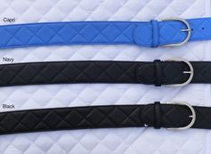 Tailored Sportsman Leather Quilted C Belts at Mary's are ladies Italian leather wide riding belts in several colors with quilt stitching & C-buckle. Tailored Sportsman, Riding Breeches, Quilt Stitching, Italian Leather, Soft Leather, Two By Two, Belt, Lady, Clothing