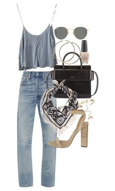 A fashion look from March 2017 featuring blue top, high waisted jeans and adidas Originals. Browse and shop related looks. Chic Outfits, Fashion Outfits, Womens Fashion, Fashion Trends, Spring Summer Fashion, Spring Outfits, Pink Shoes Outfit, Mode Ulzzang, Black Girl Fashion