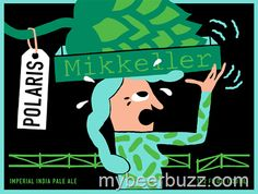 mybeerbuzz.com - Bringing Good Beers & Good People Together...: Mikkeller - Polaris Imperial IPA