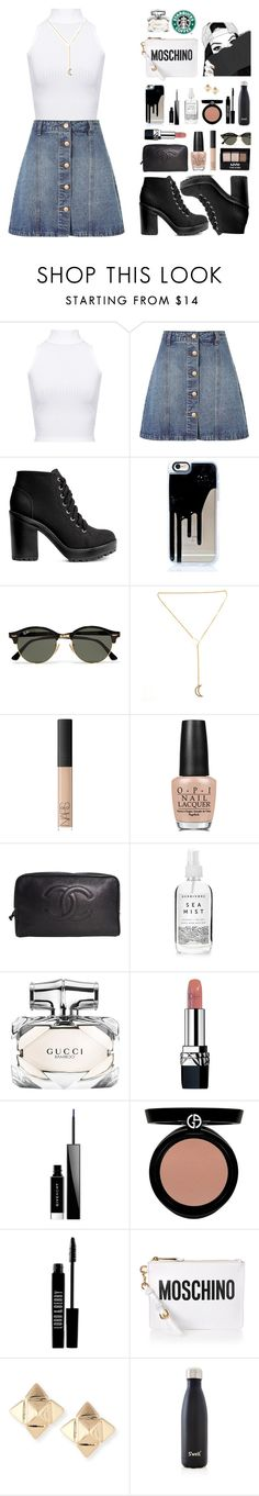 """""""Summer doesn't last forever"""" by cherryblossompastel ❤ liked on Polyvore featuring WearAll, Anita & Green, H&M, Ray-Ban, NYX, NARS Cosmetics, OPI, Chanel, Herbivore and Gucci"""