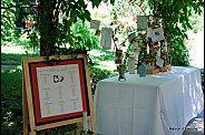 Table à cadeaux et plan de salle sur le thèmes des oiseaux