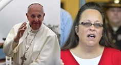 Conservative Musings: Did Pope Meet With Kim Davis? We Believe He Did. D...