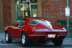 Split Personality by Garrett Brown 1963 Chevrolet Corvette Stingray Split Window Coupe  Location: California, USA