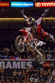 Metal Mulisha: 2012 x games 18 moto x freestyle Freestyle Motocross, X Games, Living On The Edge, Metal Mulisha, Extreme Sports, Mma, Action, Bike, Places