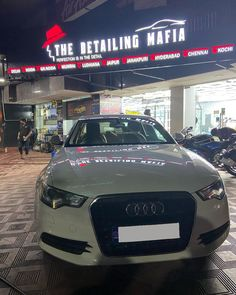 @thedetailingmafiavizag 9 years old AUDI A6 was protected with basic 2 years #sam ceramic coating of @labocosmetica_official ..... Benefits of #Ceramiccoating - > Protection from ~ Light scratches ~ Acid rains ~ UV Rays ~ Bird droppings ~ Swirl marks ~ Oxidation Enquire now: Call: +91- 8010044000.