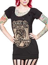 Snake Oil Elixir Tunic Top at PLASTICLAND