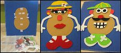 Felt & Velcro Mr. Potato Head