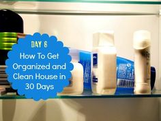 How To Get Organized And Clean House: Day Eight - Housewife How-To's®