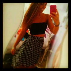 High low skirt! Forever 21