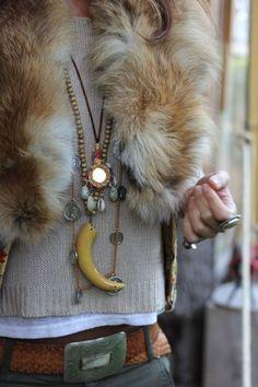 PINspiration | Bohemian Faux Fur Vest | WAYFARER