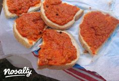 Babos zakuszka | Nosalty Vegan Recipes, Cooking Recipes, Vegan Food, Healthy Food, Feta, Pickles, French Toast, Bacon, Bbq
