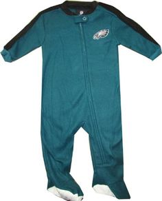 9a73be4430 Philadelphia Eagles Baby Sleeper Baby Sleepers