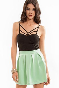 Moulin Strappy Bustier $35 at www.tobi.com