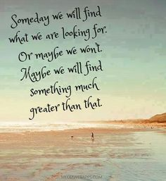 NICE!!! And usually true - God always wants even BETTER for me :)