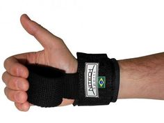 Strap Acolchoado com Munhequeira - Nitech Sports com as melhores condições você encontra no Magazine Edmilson07. Confira!