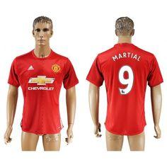 Manchester United 16-17 Anthony #Martial 9 Hjemmebanesæt Kort ærmer,208,58KR,shirtshopservice@gmail.com