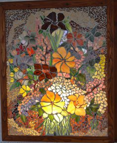 Bright picture  Glass Mosaic  50/60