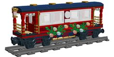 The Passenger Car expansion set. Preparing gifts and getting ready to deliver them is hard work. The passenger car provides a nice place for up to six to relax with friends or...