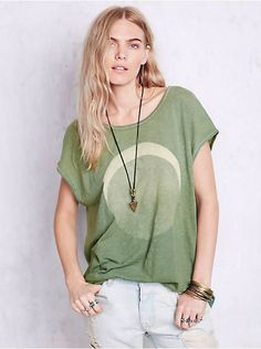 bb19a66f415f Free People We The Free Thunder Moon Tee