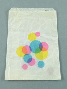 Swedish paper bag, 1970s.