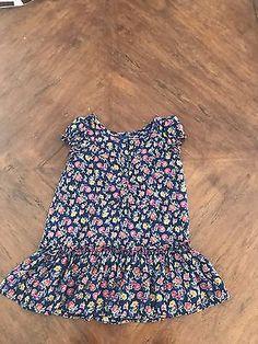 Ralph Lauren floral button up dress. Size: 2T  | eBay