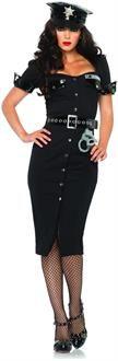 SpicyLegs.com - Lt. Lockdown Adult Costume