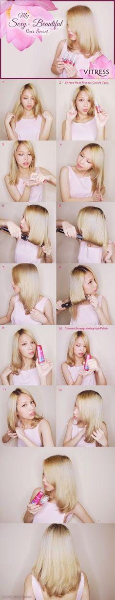 My Sexy Beautiful Hair Secret Hair Magazine, Hairstyle Magazine, Hair Secrets, Veronica Lake, Japanese Hairstyle, Lifestyle Blog, My Hair, Hair Beauty, Sexy
