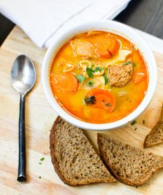 Amazing Chunky Carrot Soup