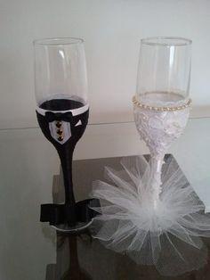 taças personalizada para casamento- brinde dos noivos- par                                                                                                                                                                                 Mais