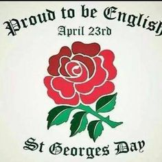 Happy St George's day 23 April (yes I'm English not British). St George Flag, Saint George, Happy St George's Day, Catholic Feast Days, Great Britain United Kingdom, Tattoo Uk, St Georges Day, Churchill Quotes, Saints Days