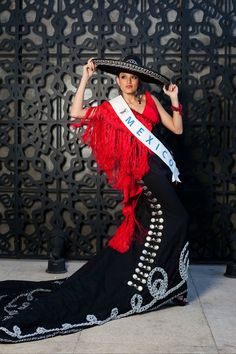 Traje de Jalisco Miss Beauty Mexico: Eunice Sánchez