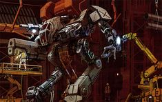 BattleTech Mechs | BattleMech Tech Page illustration