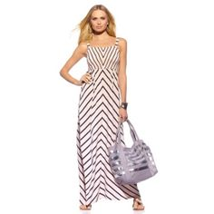 Louise Roe Maxi Dress with Theme Sandals by HSN
