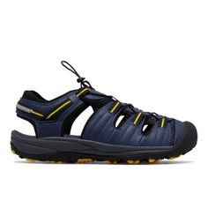 078df5e1b2d8 Appalachian Sandal Men s Slides - Navy Yellow (M2040NV) New Balance
