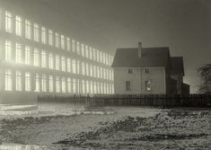 Jack Delano. Textile mill working all night in New Bedford, Massachusetts, 1941. Source