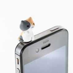 adorable cat iphone headphone jack accessories