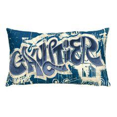Jean Paul Gaultier - Revelation Cushion - 42x25cm - Bleu