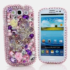 iphone 5 5S 5C 4/4S  Samsung Galaxy S3 S4 Note 2 3 by Star33mall, $75.50