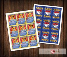 Pokemon Inspired: Valentine Day Cards Pokecards by sandraMdesign