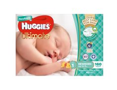 Huggies Ultimate Nappies Mega Newborn Size 1 160 Pack | Baby Bunting Baby Nappy Cakes, Baby Bunting, Baby G, New Mums, Baby Skin, Baby Boutique, Little Babies, Baby Shower Gifts
