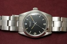 OYSTER COMMANDO Style Ref-6429(1969y) 1000000+t 2017.2.22. Vintage Rolex, Oysters, Gold Watch, Omega Watch, Watches, Accessories, Black, Style, Swag