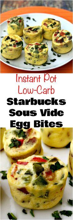 Instant Pot Low-Carb Starbucks Sous Vide Bacon Egg Bites