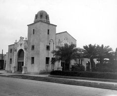 Frisco Railroad Station - Pensacola Frisco line railroad station on W. Garden Street. Bell South building is now on this site but an old railroad engine is in the median strip of Garden at the location. I believe this closed in the 1950s.
