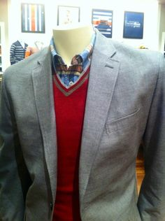 Tailored Fit Two-Button Blazers at Banana Republic
