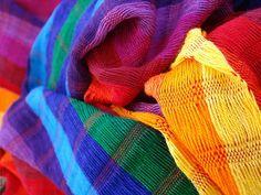 Telas de colores, Mexico