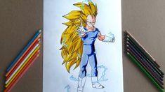 Dibujando a VEGETA SSJ3/Speed Draw Vegeta SSJ3
