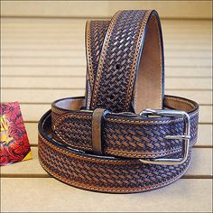 40-inches-DARK-BROWN-HILASON-HANDMADE-HEAVY-DUTY-WESTERN-WORK-LEATHER-MENS-BELT