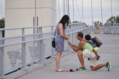 I am no stranger to proposals; many good things happen on my watch. Congrats @wsgrettenberg!